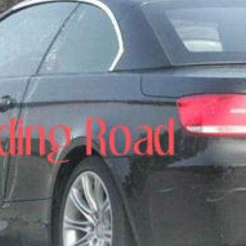 Spy Photos: BMW M3 Convertible