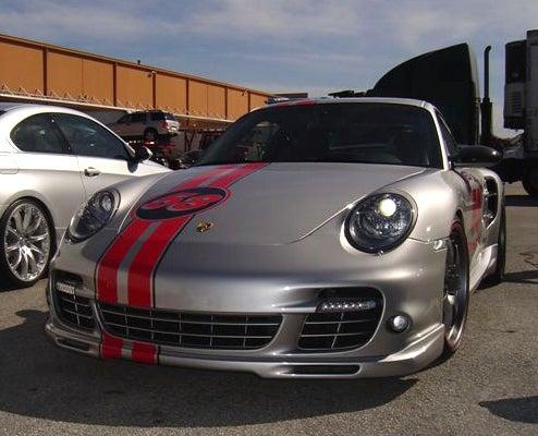 GGI Porsche SEMA Special Sports Ed Hardy Graphic Treatment