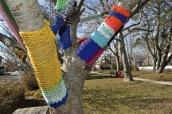 Knitting Vandals Launch Purl Attack