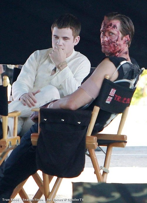 True Blood Set Pics