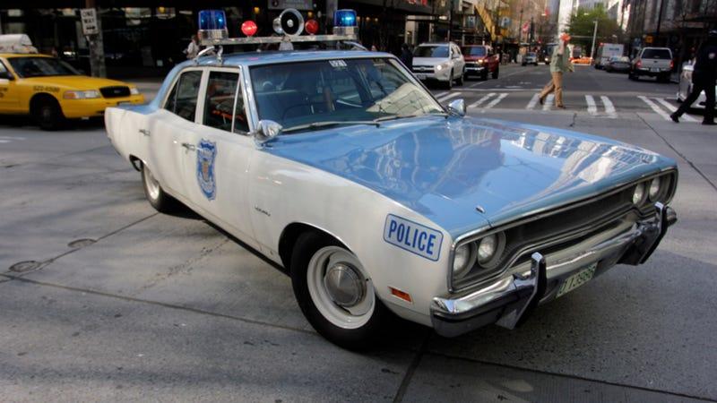 Seattle Police Roll In This Restored 1970 Plymouth Satellite