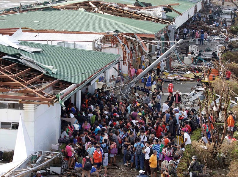 Most Powerful Storm to Ever Hit Land Kills 10,000 in One City Alone