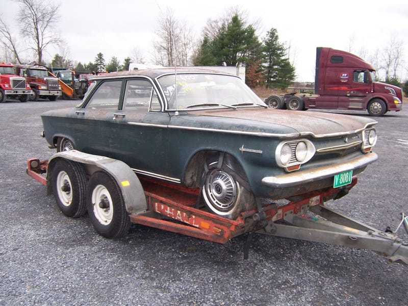The Oldest 24 Hours Of LeMons Car Yet: UDMan's 1963 Corvair