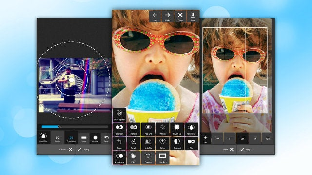 Pixlr Express Makes Editing and Correcting Your Photos on the Go Easy