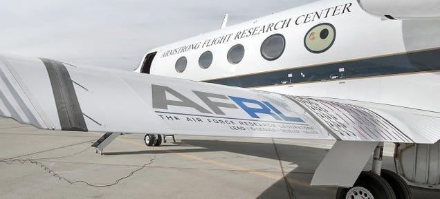 NASA Finally Tests Its Shape-Shifting Airplane Wings