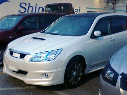 Subaru Exiga STi?