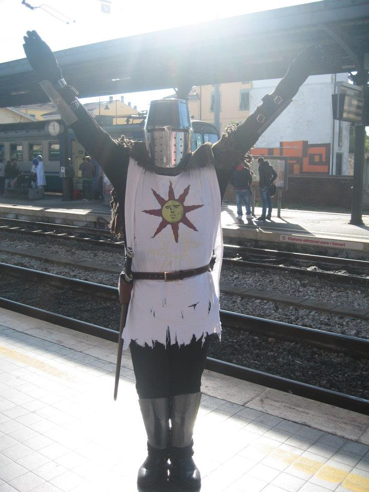 But Will Dark Souls Armor Protect You on Trains?
