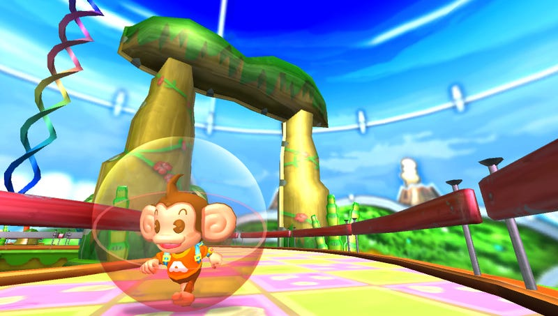 The Vita's Super Monkey Ball: Banana Splits Is Still in its Experimental Stage
