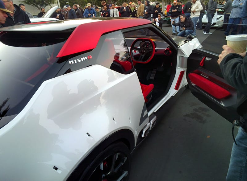 Nissan IDx at Irvine Cars and Coffee