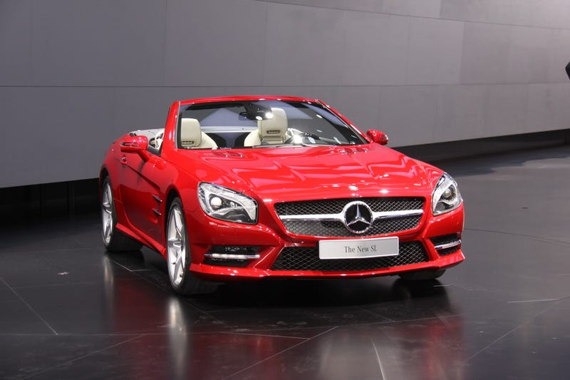2013 Mercedes-Benz SL: Detroit Auto Show Live Photos