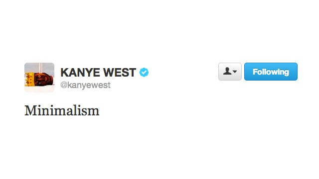 Kanye West Is Being Very Kanye West-y On Twitter Today