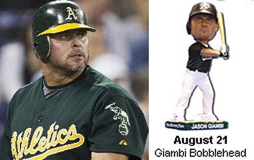 Miniature Spring-Loaded Doll Is Jason Giambi's Only Legacy