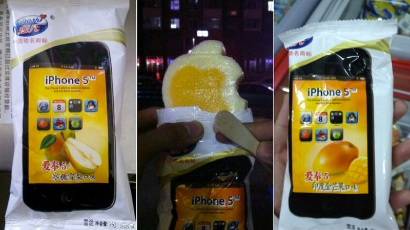In China, You Can Eat the iPhone 5