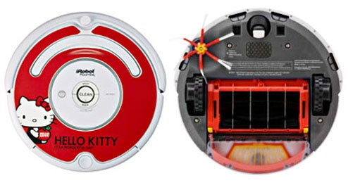 Get Your Floors Clean and Cute With Hello Kitty Roomba