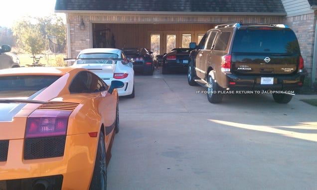 "Man ""intentionally"" drove $2.2 million Bugatti Veyron into lake"
