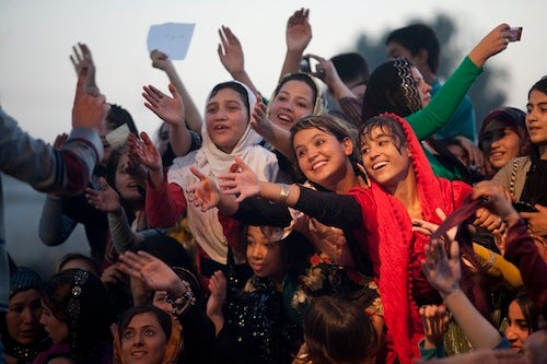 Free Concert Sounds Even Sweeter In Afghanistan