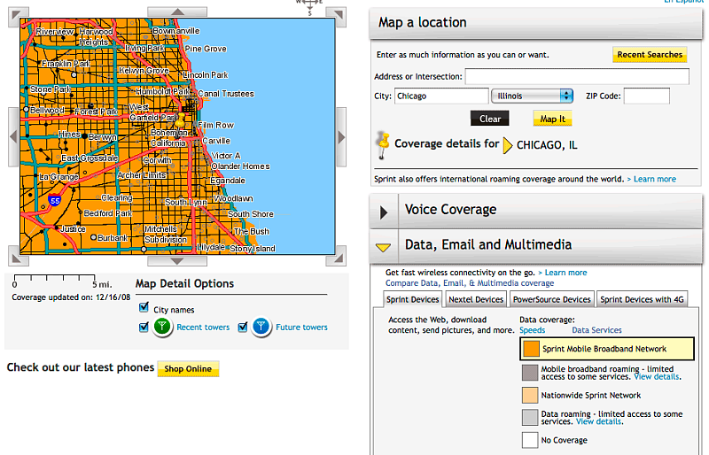 Chicago 3G Test: AT&T, Sprint and Verizon