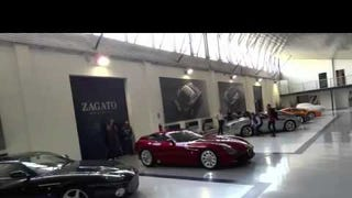 Listen to the Zagato TZ3 Stradale rumble