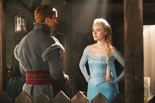Get A First Look at Fantastic Four's Thing and Once Upon a Time's Elsa!