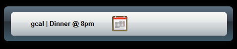 Schedule Gcal Events with Launchy and the Google Calendar Plug-in