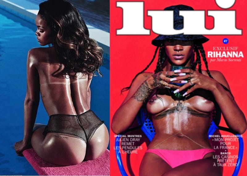Rihanna and Her Nipples Pose on the Cover of French Magazine Lui