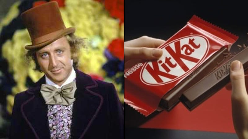 Nestle Is Playing Real-Life Willy Wonka