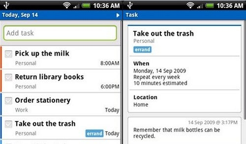 Five Best Mobile To-Do List Managers