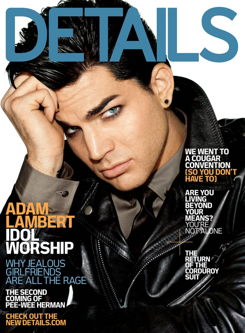 What Do Adam Lambert and Details Have in Common?