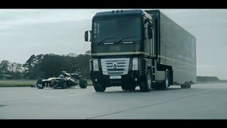 Holy Crap This Truck Jumped An F1 Car And Set A World Record Doing It