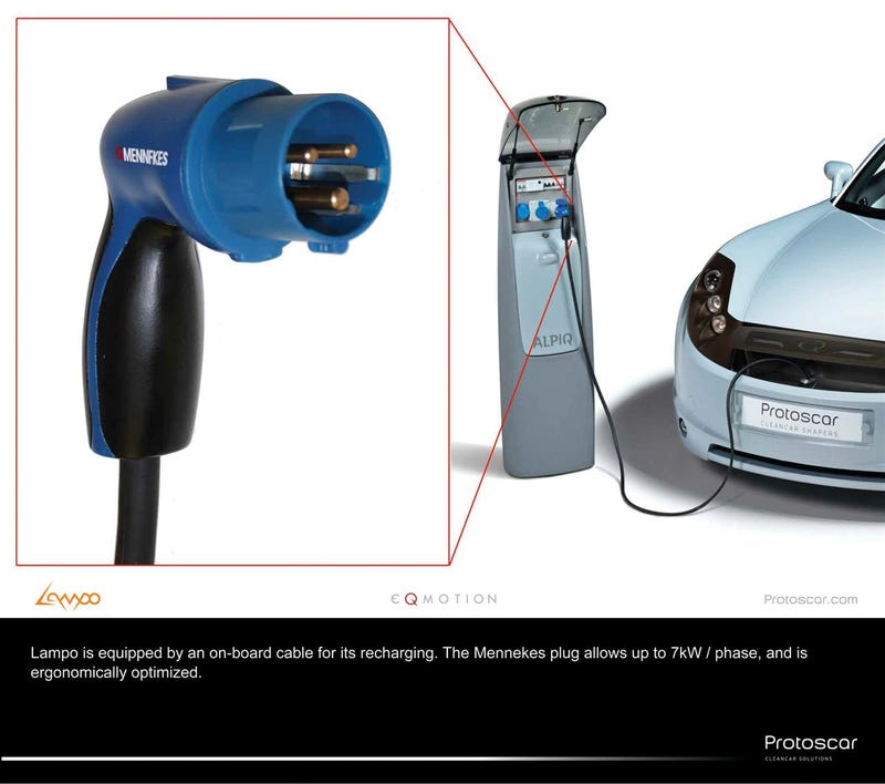 Protoscar LAMPO Solar-Powered AWD Car To Cleanly Light Up Geneva