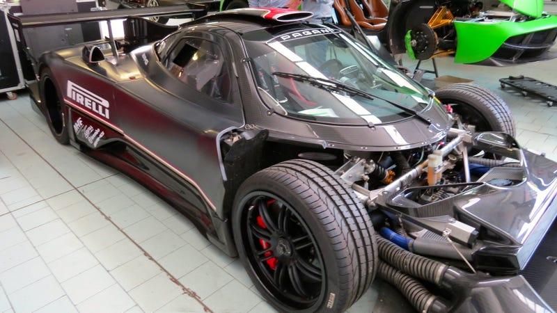 Bask In The Raw Carbon Glory Of The Final Pagani Zonda Revolucion