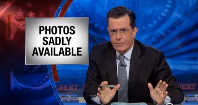 Here's Stephen Colbert's Take on the Celebrity Nude Photo Hack