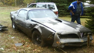 My grandfather backed into my Trans Am