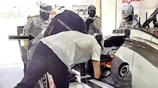 Mark Webber's Underwear Is Now Less Of A Mystery