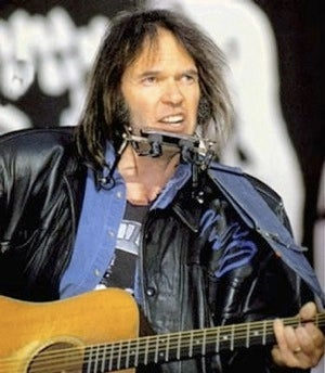 Neil Young Fans Suddenly Love War