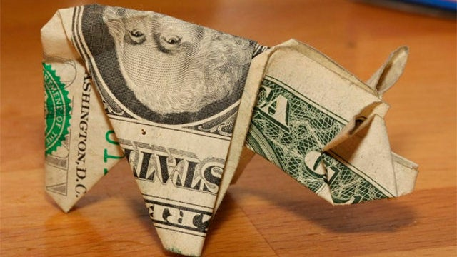 Why You Don't Pay a Ticket with 137 Dollar Bills Folded into Origami Pigs