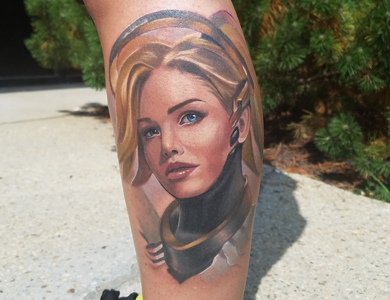 11 Fans Who Love Overwatch So Much, They Got Tattoos