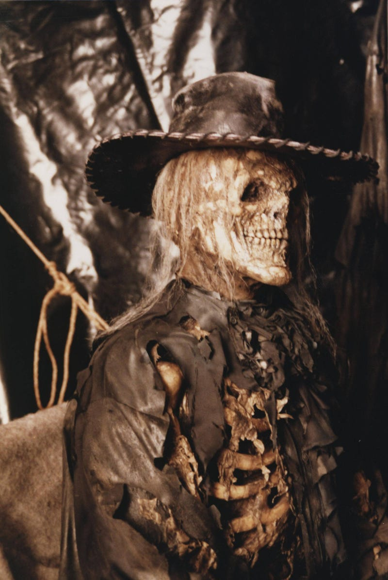Who was the Skull Cowboy, the mysterious character cut from The Crow?