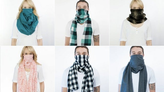 Behold the Scough, the miraculous germ filtering scarf