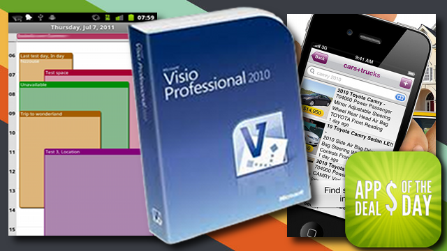 Daily App Deals: Get Microsoft Visio 2010 Professional for Almost $400 Off the Retail Price in Today's App Deals