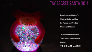 Secret SanTAY 2014 -- The Guide to Everything Zarnyx