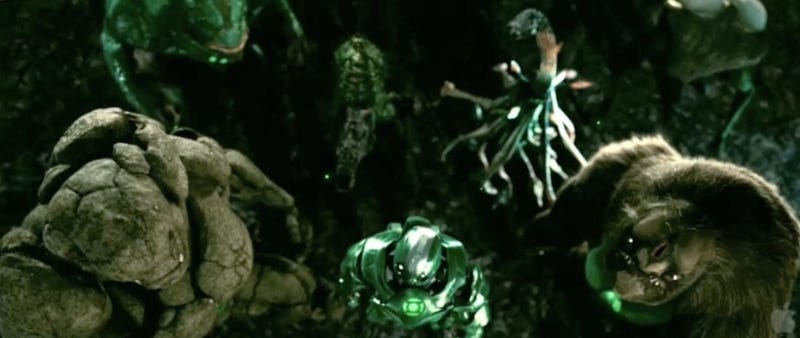 Watch the Green Lantern footage that tore the roof off Wondercon!