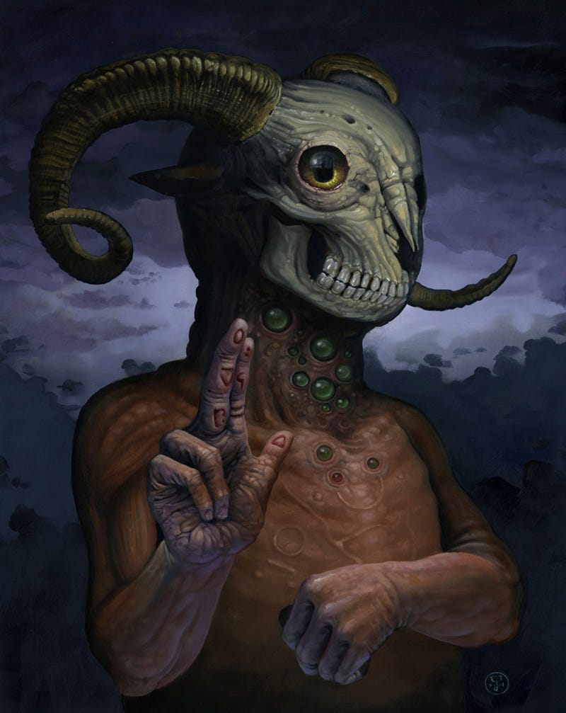 The ram-skulled god is ready to invade your nightmares