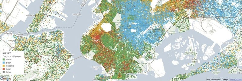 Hey, Look How Segregated New York City Is!