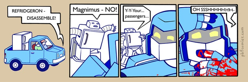 Tales Of An Autobot, Magnimus Gets It All Wrong