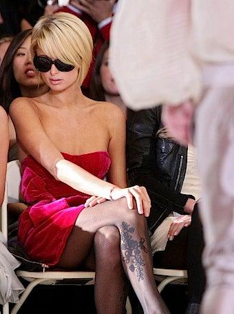 Paris Hilton Does Her Best Wintour