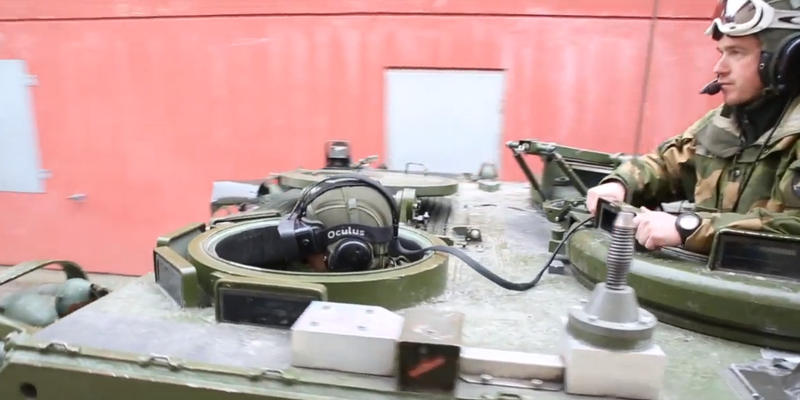 The Norwegian Army is Using the Oculus Rift to See Through Its Tanks