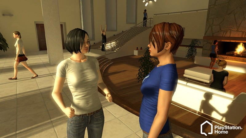 PlayStation Home And Second Life: Worlds Apart