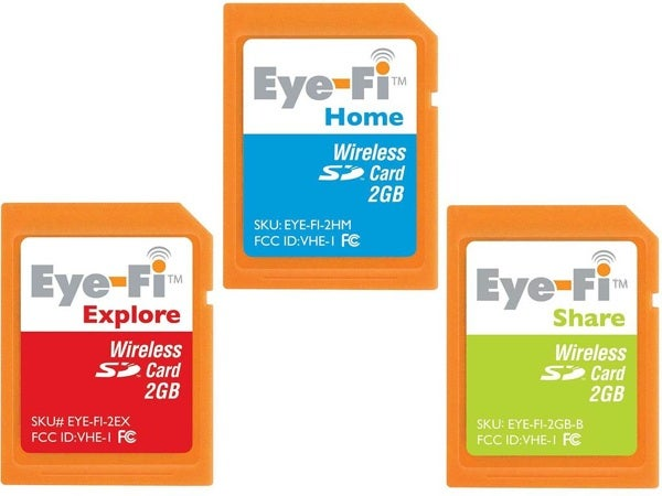 Eye-Fi SD Cards Offering Direct to YouTube Uploading