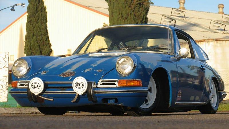 Slammed Porsche 911T on Ebay